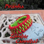 Zombie Bloody Cannibal Mega Dayglo